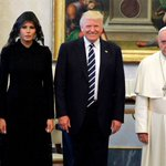 Why did Melania and Ivanka Trump cover their heads for the pope but not the Saudis? https://t.co/ey4F0Jc673