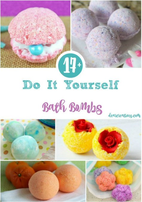 DIY Bath Bombs 17+ Do It Yourself Bath Bombs Fun, Easy DIY Beauty Recipes