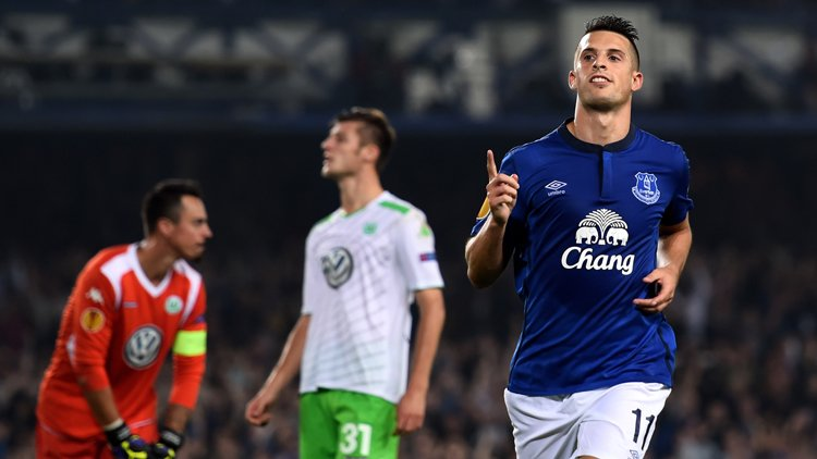 Kevin Mirallas: &quot;There is nothing more beautiful than the European games under floodlights at Goodison Park&quot; #EFC <br>http://pic.twitter.com/khYebw2WuK