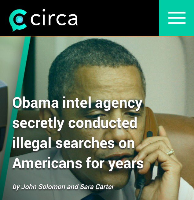 Obama Illegally Spied On American Citizens FOR YEARS   #GOP Establishment Silent  They Are Busy Taking Down #Trump   https://t.co/97IgNjdflK
