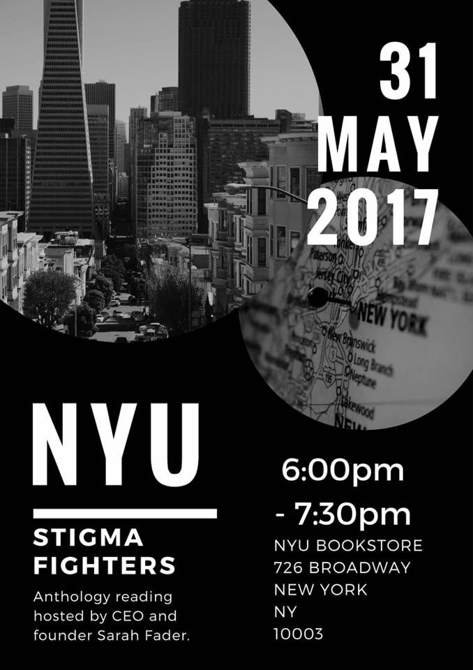 #PlsRt #KeepTalkingMH.  A reading #MentalHealth.@TheSarahFader #NYU May31:  https:// wp.nyu.edu/freeandpublic/ 2016/08/01/may-31-reading-fighting-the-stigma-of-mental-illness/ &nbsp; …  #Event ON #FB  https://www. facebook.com/events/1864774 110455511/ &nbsp; … <br>http://pic.twitter.com/2aEGfv0FZb