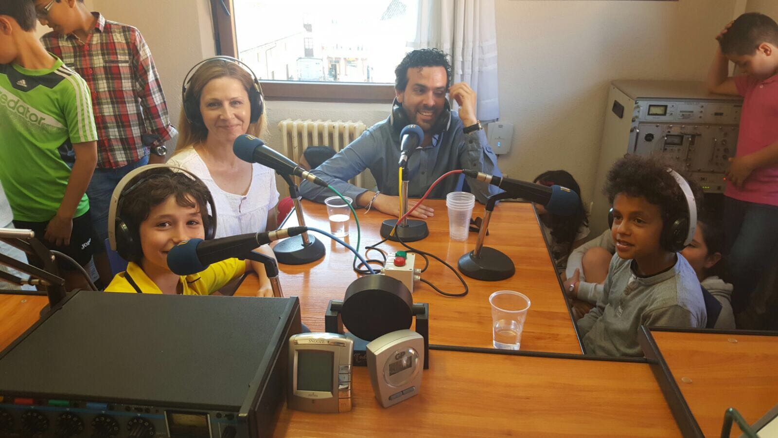 We have been ay @radioaguilar with​ @colsangregorio & @HTPDSchool as part of our #etwinning project and exchange. #etwinning_cyl https://t.co/0fNFf4fvUX