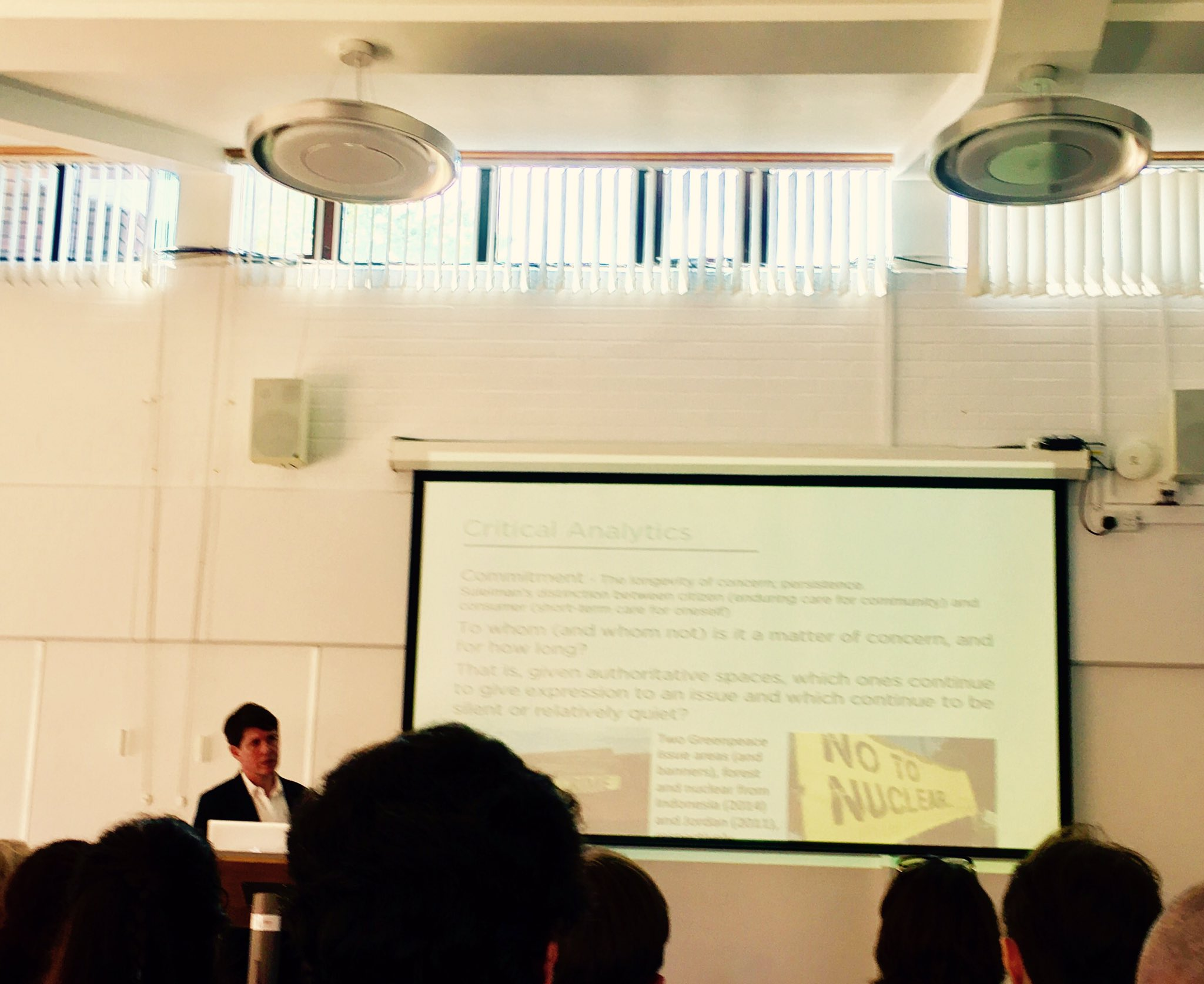 Richard Rogers keynote kicks off the conference on digital methods #RMDigital @UniOfSurrey https://t.co/IXA6yoHXA2