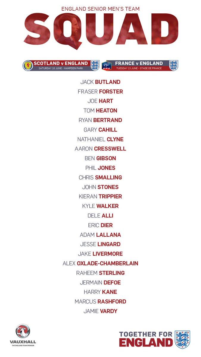 L'équipe national d'Angleterre. DAqqOA2XgAEOjlj