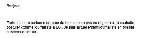Tiens @LCI, j'ai reçu ça, je crois que c'est pour toi :) #LeBouletDuJour