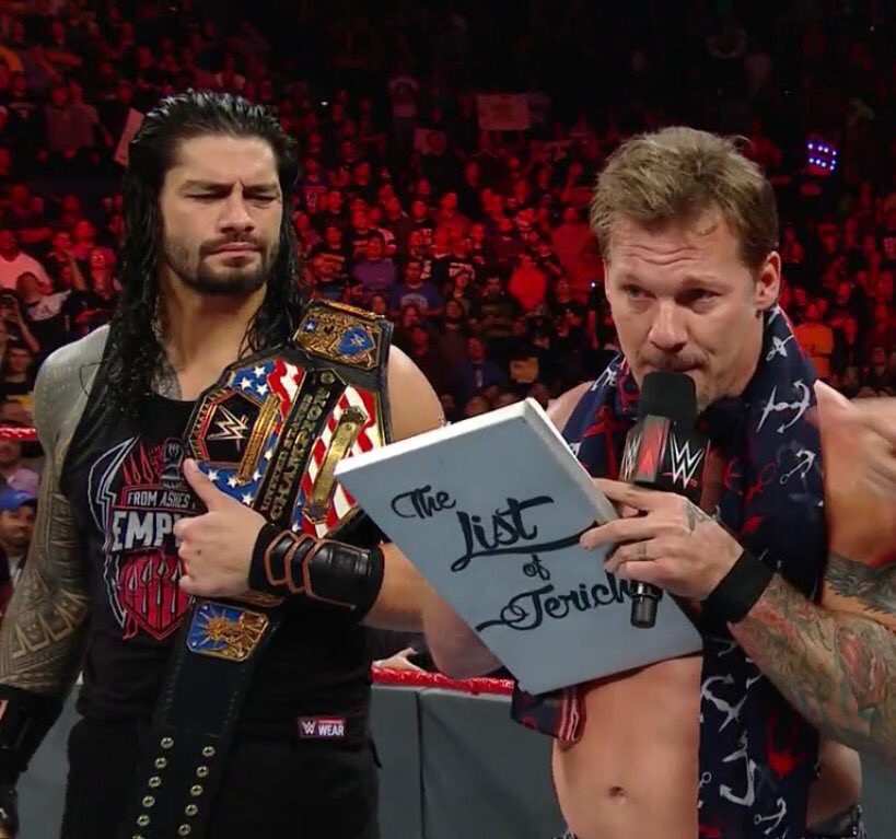 ROMAN TRYING TO FIGURE OUT WHAT IS ACTUALLY IN THE LIST.!  ONE OF MY FAVOURITE EPISODES.! #Raw  #TBT<br>http://pic.twitter.com/fz3EErTJ8I