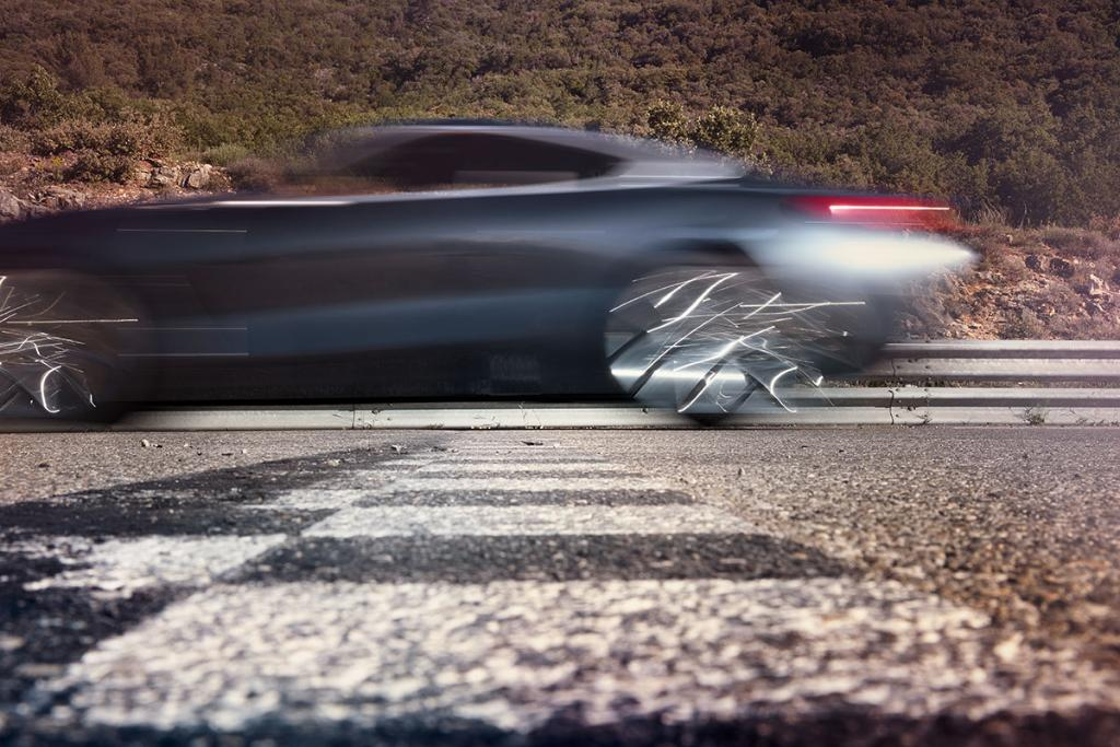 Beautiful blur. There\'s something on the way. #BMW