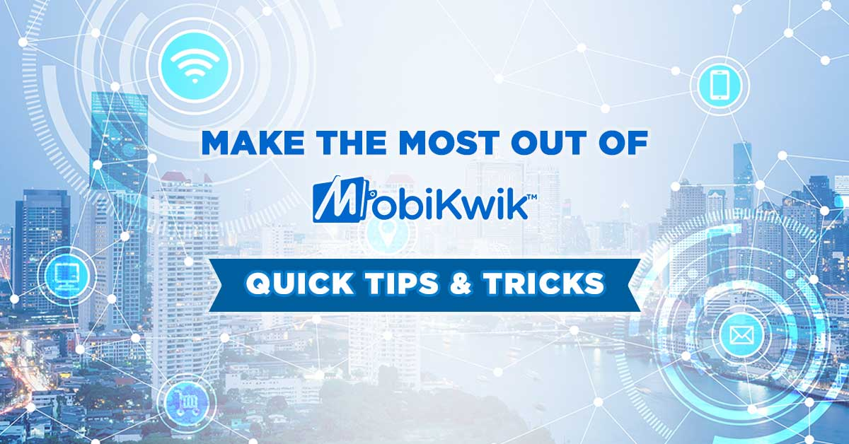 8 Tips To Consider ? We&#39;ll give you 9 Tips to make the most of your #MobiKwik #DigitalWallet  https:// blog.mobikwik.com/index.php/9-wa ys-to-make-the-most-out-of-your-mobikwik-app/ &nbsp; … <br>http://pic.twitter.com/qEssEiOXM6