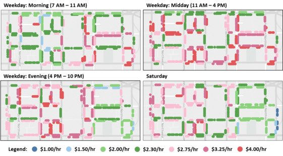 Some #parking spaces to cost more in downtown #DC  http:// wtop.com/dc/2017/05/cos t-parking-change-downtown-dc/ &nbsp; … <br>http://pic.twitter.com/Zs1VpwCGUj