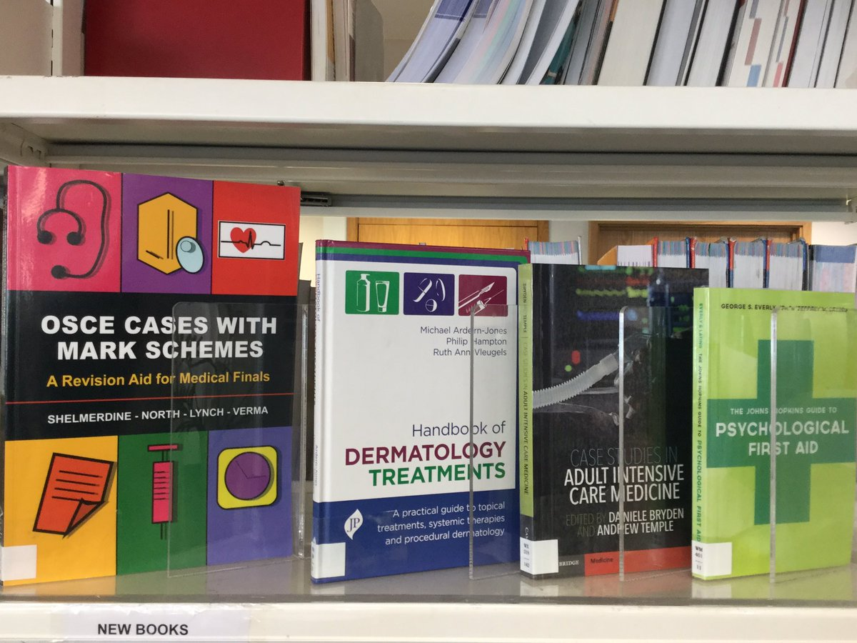 Cambridge Medical Library On Twitter Selection Of New Books - Can-pick-the-book-quick