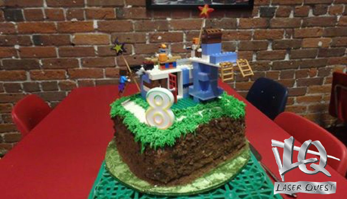 Fantastic Laser Quest On Twitter What Did The Cake Say Lego To Laser Funny Birthday Cards Online Alyptdamsfinfo