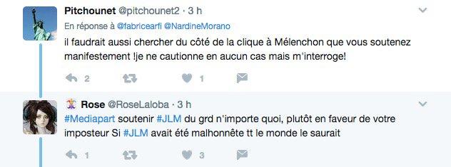 Les macronistes pensent que nous soutenons Mélenchon dont les soutiens pensent que nous soutenons Macron. Indépendance. 😉