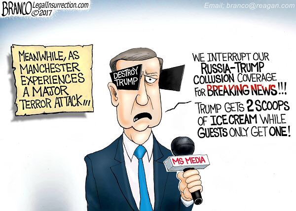 We interrupt collision coverage. @afBranco cartoon #TCOT #LNYHBT #MAGA #DrainTheSwamp #BuildTheWall #Manchester <br>http://pic.twitter.com/KBAdfiabTI