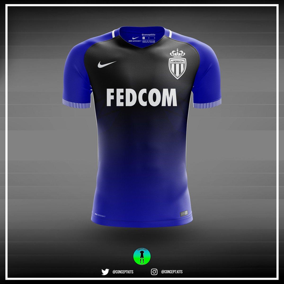 AS Monaco away kit concept 2017/18 #ASM #Ligue1 #ASMonaco #Monaco #Mbappe #Falcao #Jardin #France #nike #aeroswift #nikeaeroswift #newkit<br>http://pic.twitter.com/u0fjWG5lqg