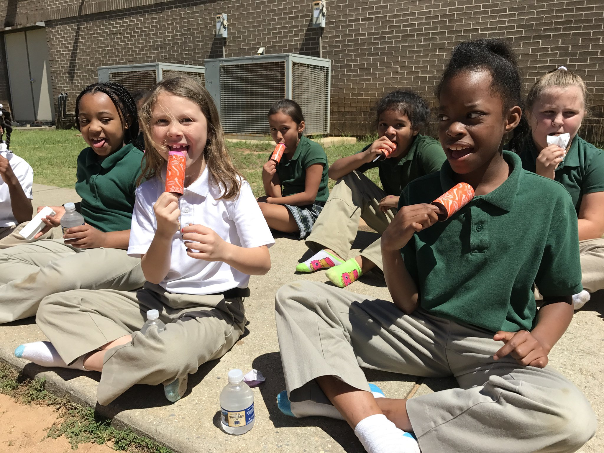 """dodge elementary uniform Dodge Elementary on Twitter: """"Having a ball at our AR celebration"""