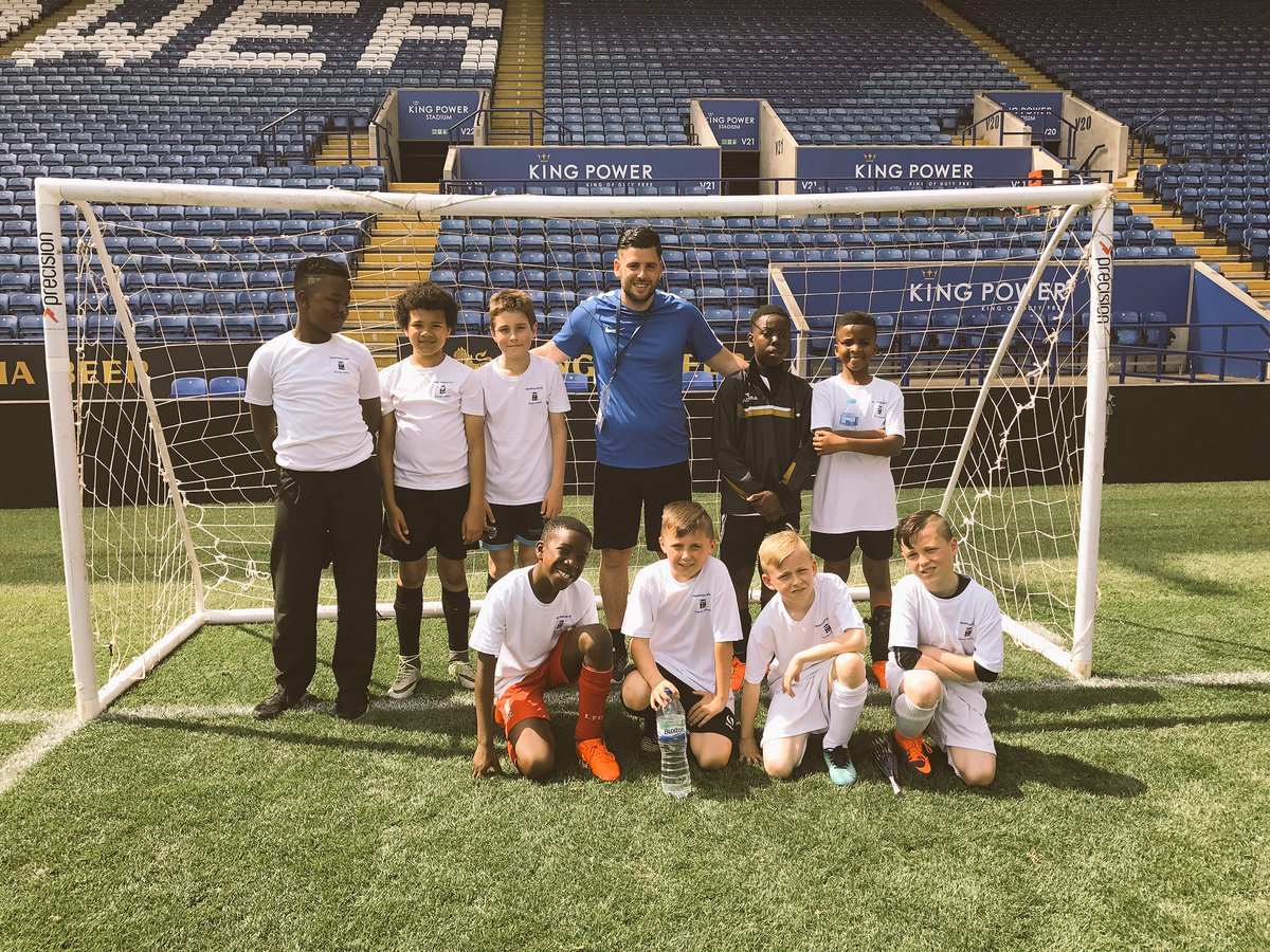 An amazing day today with the @MowmacreHill football team. @LCFC_Community #lcfc <br>http://pic.twitter.com/Pu2uOO9Es6