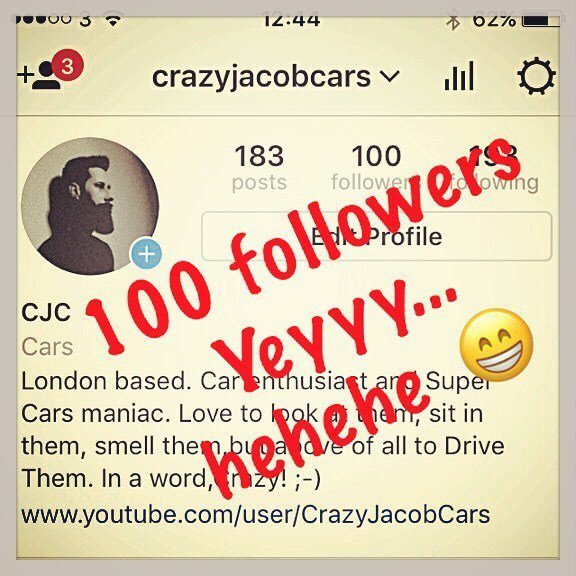 Amazing thing happened.  #cjc #crazyjacobcars #100 #100followers <br>http://pic.twitter.com/mwBEsdg9lp