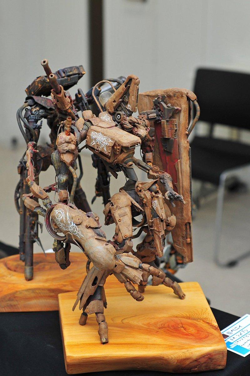 べにぃくんのネオ・シャイアン。うーんカッコいい。#江ノ展
