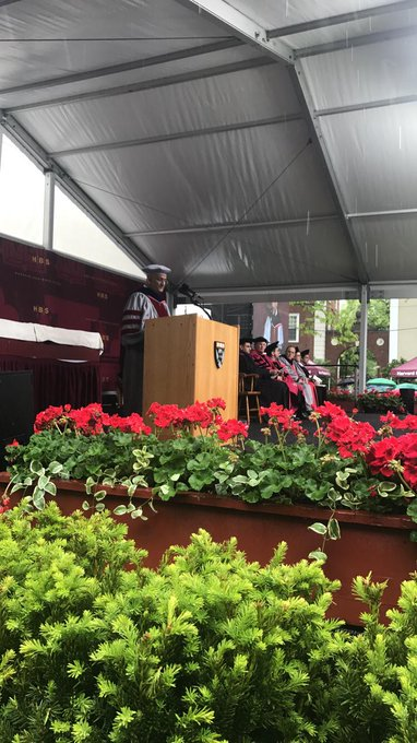 Livestream the Class of 2017 Diploma Ceremony:  https://t.co/WyK8DzvzLS #HBS2017