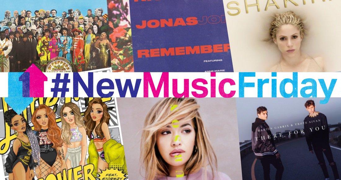 YAS queens! Tomorrow&#39;s #NewMusicFriday features new @Shakira, @Halsey/@LaurenJauregui, @CarlyRaeJepsen, @RitaOra  http:// bit.ly/1fYTfe4  &nbsp;  <br>http://pic.twitter.com/hyYgOSwVMc