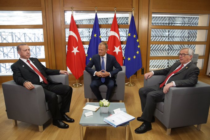 EU: Turkey Tensions Ease on Erdogan Visit