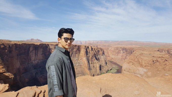 [택연] 택연의 백만원 미국 캠핑카 여행기!  다음주도 많이 기대해주세요~!^^  #2PM #TAECYEON #택연 #옥택연 #어느날갑자기백만원