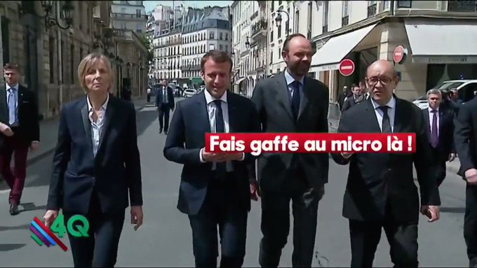On a grillé la technique de #Macron pour que ça se passe bien avec les syndicats : 'je ne leur ai rien dit' #Astuce  https://t.co/nCh8nNT7dT