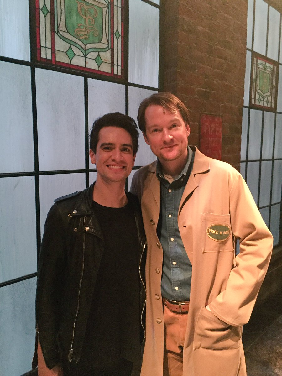 This man represents everything about Charlie Price & then some. The factory is in good hands with @brendonurie https://t.co/k0VYaPWQzv