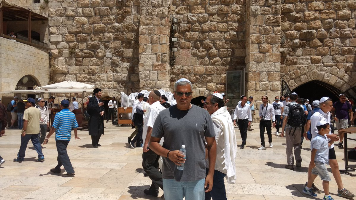 By the Western Wall. Time for Beit haMikdash haShlishi!