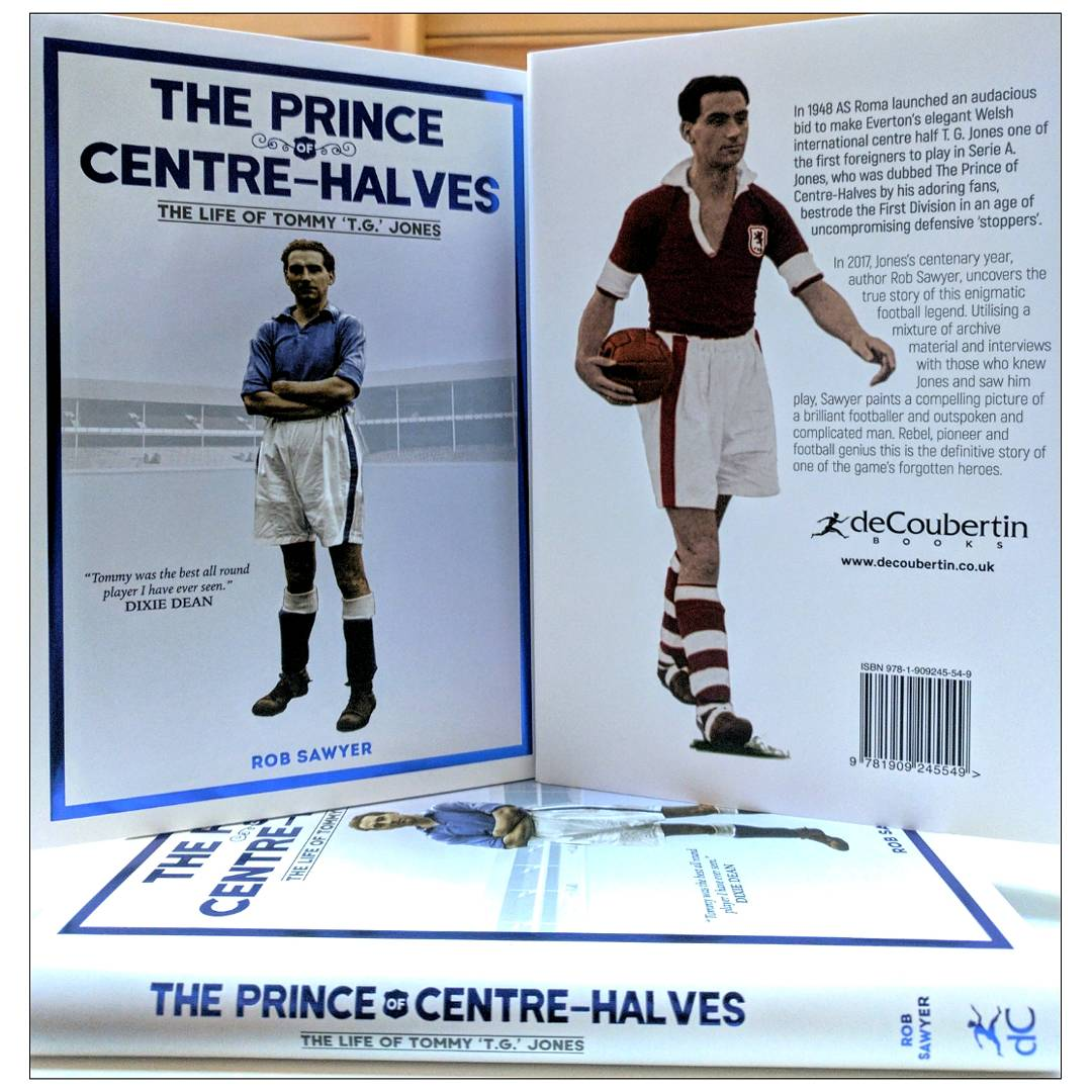 Hot off the press! @robsawyer70 new book on TG Jones has arrived in the office! #newbook #efc <br>http://pic.twitter.com/1DcvRUDif6