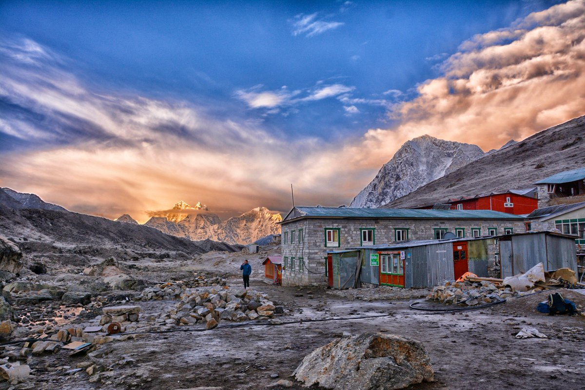 The Village of Lobuche, on the way to Everest Base Camp #Everest #EBC #Nepal #Lobuche #Himalayas #AdventureOfALifetime<br>http://pic.twitter.com/24d1HZU5pt