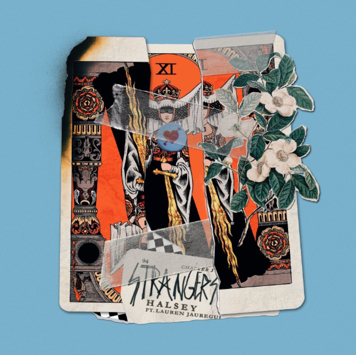&#39;Strangers&#39; is the new single from @Halsey and features @FifthHarmony&#39;s @LaurenJauregui AND it&#39;s out tomorrow!  #NewMusicFriday <br>http://pic.twitter.com/PqC7EGEiX4