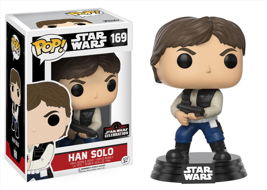 RT & follow @OriginalFunko for the chance to win a #SWCO exclusive Han Solo Pop!