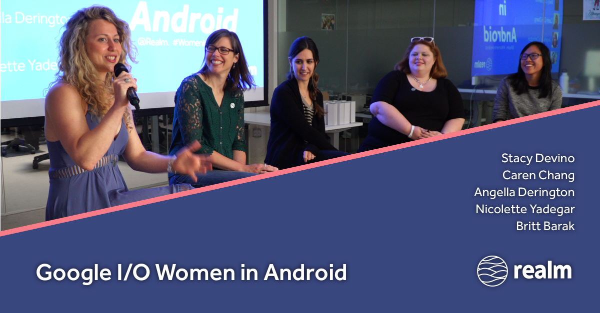 Top women in #AndroidDev discuss #GoogleIO!  @DoesitPew @calren24 @AngellaMLD @00nicolette @brittbarak take it away:  https:// news.realm.io/news/google-io -2017-women-in-android/ &nbsp; … <br>http://pic.twitter.com/xYhgMawbyR