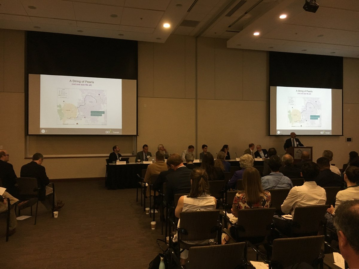 Great #DOLRT panel this AM with officials, developers and designers on diversifying from #Eds&amp;Meds to mixed-use #TOD. @GoTriangle @TJCOGnc<br>http://pic.twitter.com/ZGGkNpSSi5