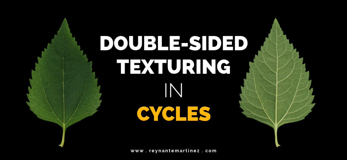 A new Blender-Cycles tutorial is up!  http://www. reynantemartinez.com/double-sided-t exturing-in-cycles &nbsp; …  I hope you learn something new and useful. :) #b3d #cycles #tutorial #tips<br>http://pic.twitter.com/oYTNx9A8dL
