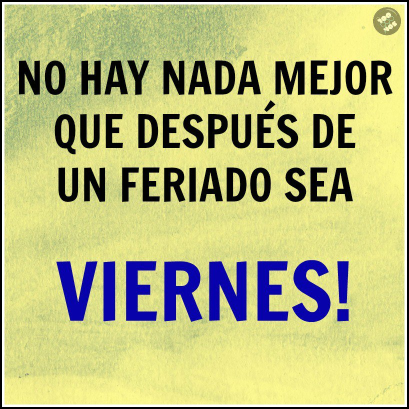 #BuenViernes! https://t.co/IAg4bFfNfY