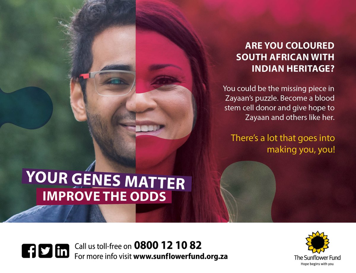 ARE YOU COLOURED SOUTH AFRICAN WITH INDIAN HERITAGE? You could be the missing piece in Zayaan's puzzle #HopeBeginsWithYou #RETWEEET <br>http://pic.twitter.com/g9uvvSVRR8