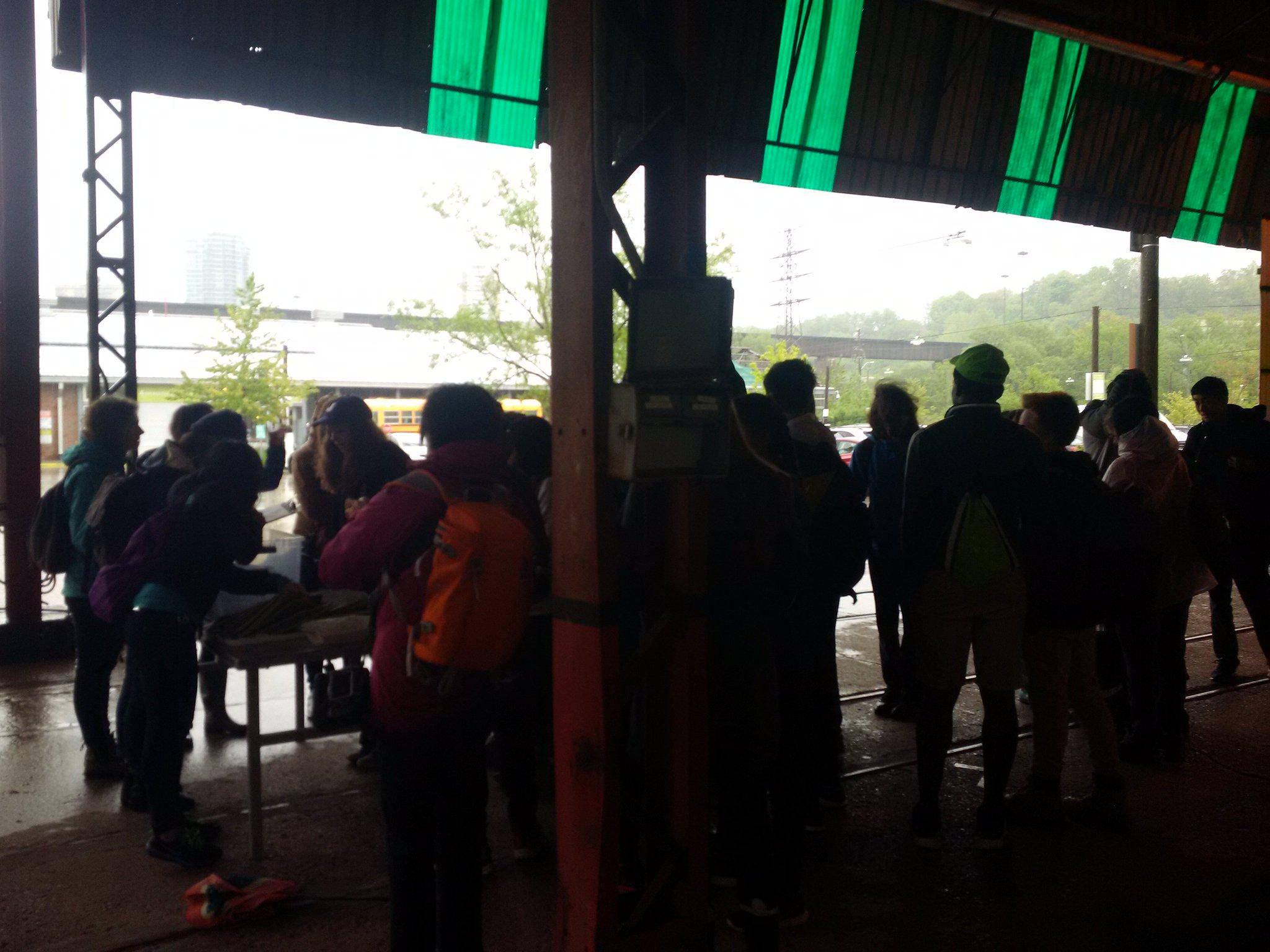 Despite the rain #yas2017 is kicking off!!! @torontoyec @EGbrickworks @EvergreenCanada @HSBC_CA https://t.co/FpLu9HHZgd