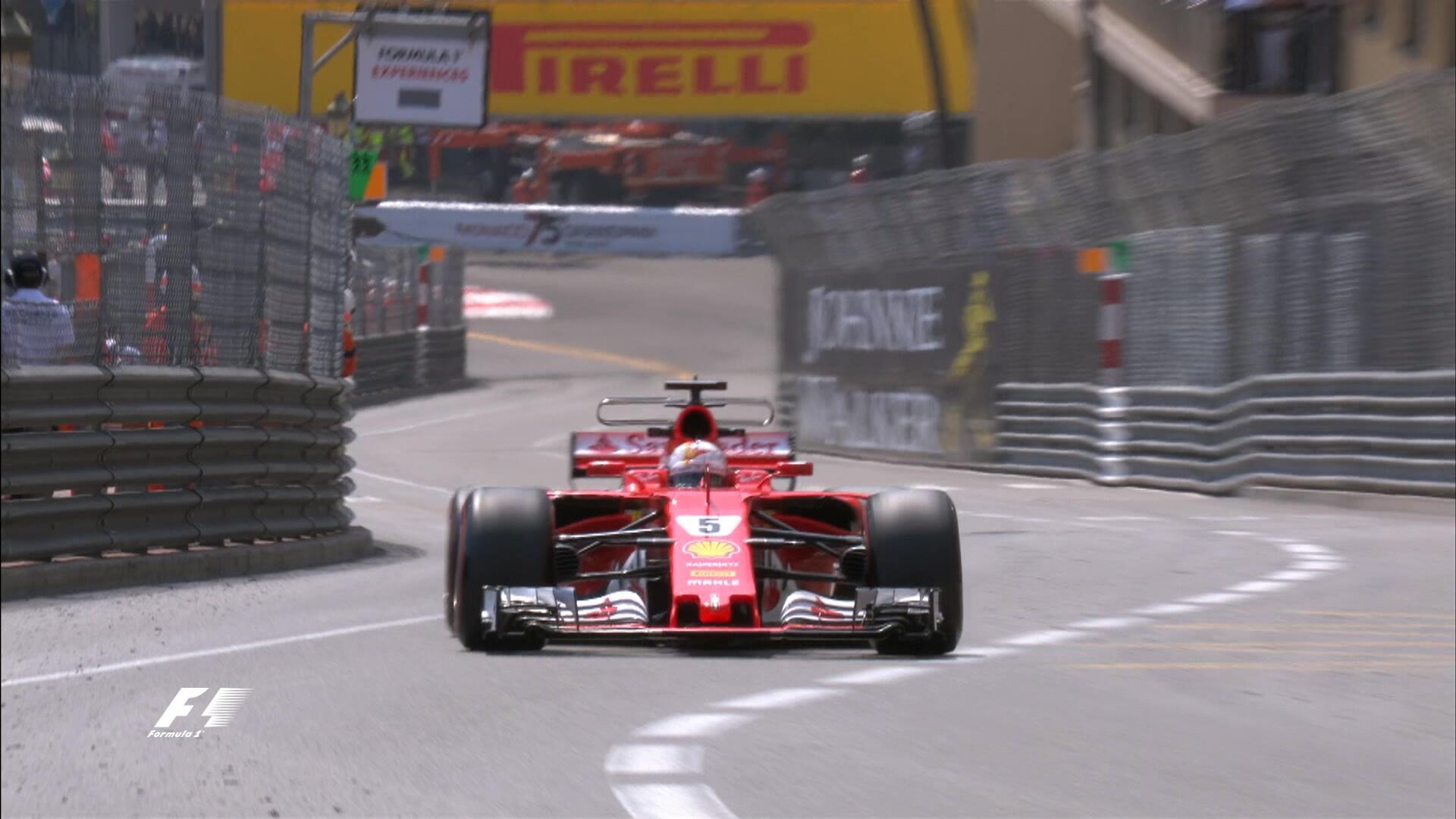Entrenamientos libres 2 Gran Premio de Fórmula 1 Mónaco 2017 / Crónica