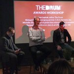 """Michael Kerans @TheDrum Workshop reminds #marketers to """"tell a story"""" with your award entries, """"we're all human"""" #marketingtips"""