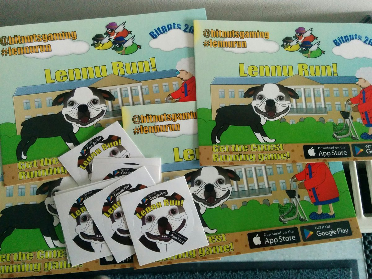 Ready to tell the world about #lennurun!  #indiegame #marketing #lennuthedog #indiedev<br>http://pic.twitter.com/NQjffc1OoU