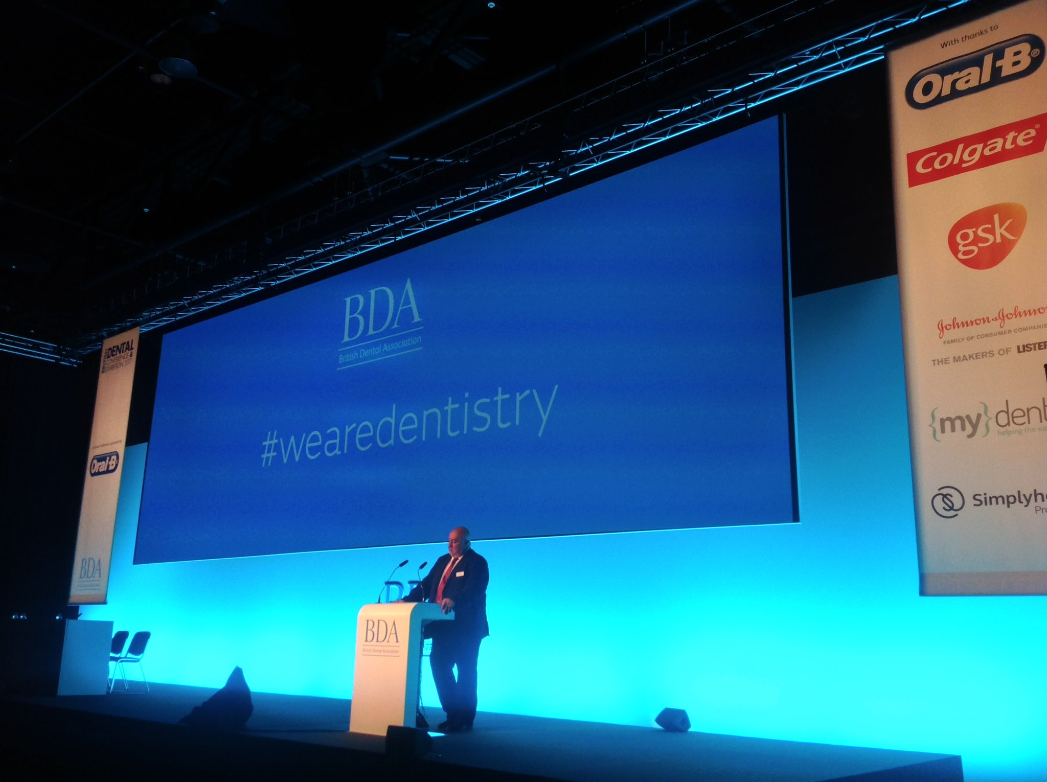 """A dentist is more than a number on the GDC register..."" BDA Chair Mick Armstrong's #BDA2017 address #wearedentistry https://t.co/WtdRnrMphb"