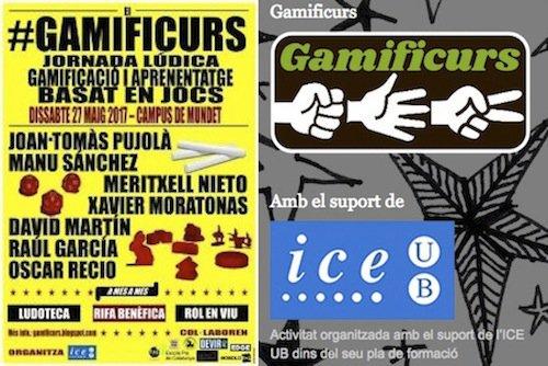 Dissabte: la gamificació i l'aprenentatge es troben en la Jornada #gamificurs @applejux @natxo1d10 @iceub https://t.co/NcjrKqS7Ev https://t.co/e1LViblXz8
