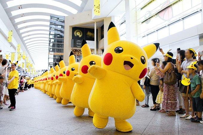 「ピカチュウだけじゃない ピカチュウ大量発生チュウ!」を横浜で - スプラッシュショーも再び開催 - https://t.co/ohCXie0oTk
