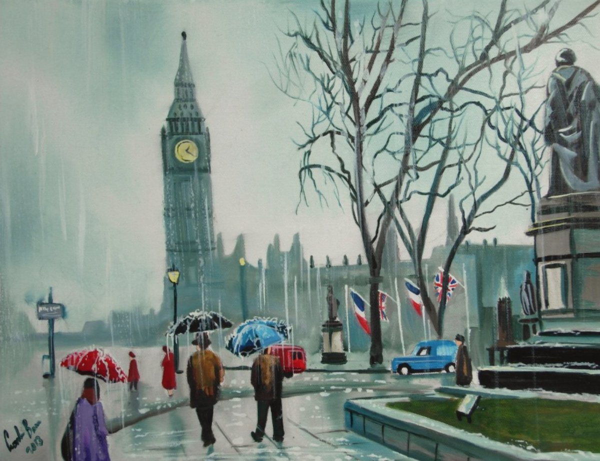 A rainy day in #London print  http://www. ebay.co.uk/itm/3816920498 72?ssPageName=STRK:MESELX:IT&amp;_trksid=p3984.m1555.l2649 &nbsp; … <br>http://pic.twitter.com/h1o86yxyoZ