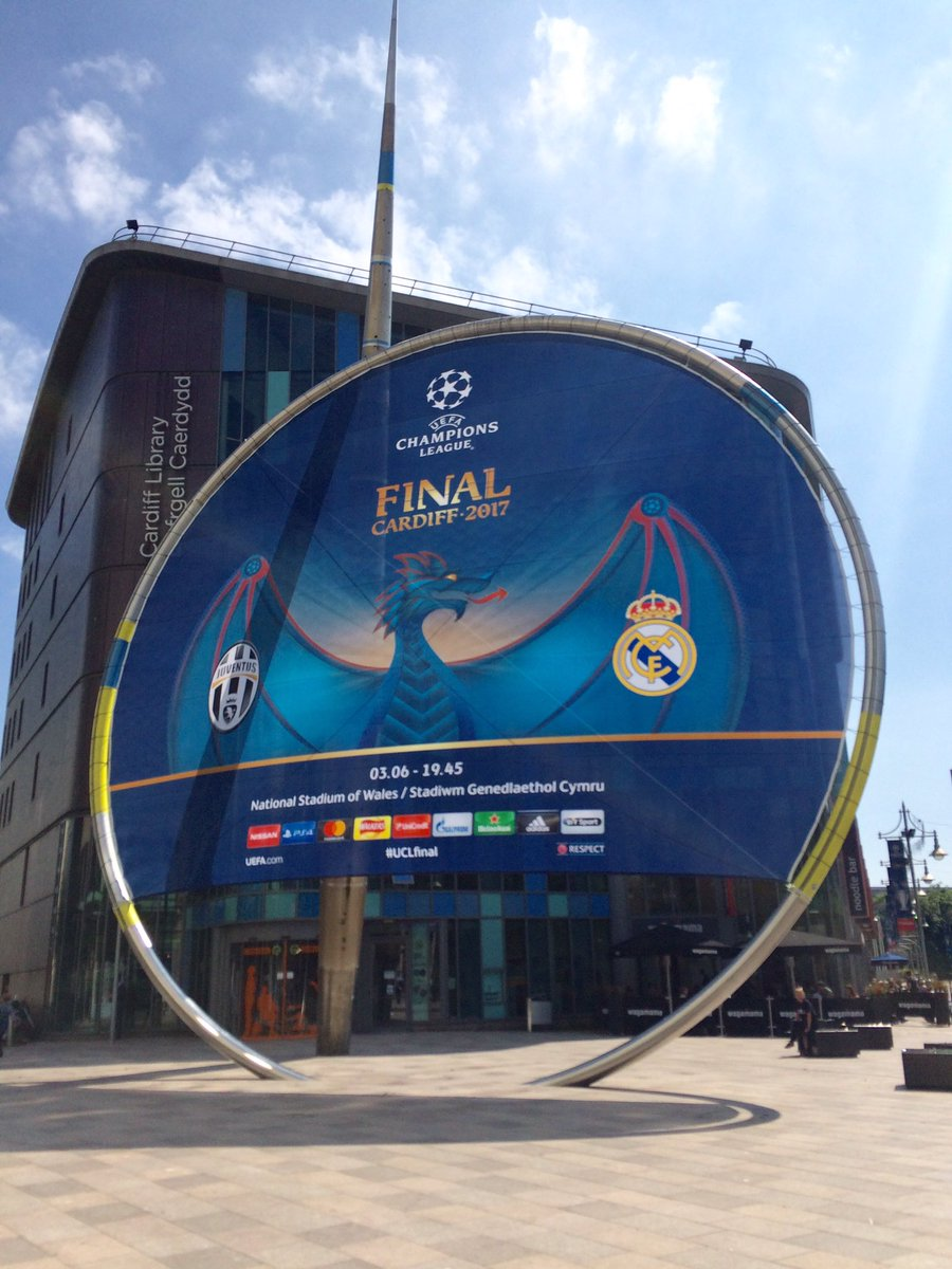 Yes it&#39;s coming! @UEFA @EuropaLeague @UEFAWomensEURO #Cardiffis #ChampionsLeagueFinal #football #wales @VisitCardiff @VisitWales<br>http://pic.twitter.com/eqzckHuCHI