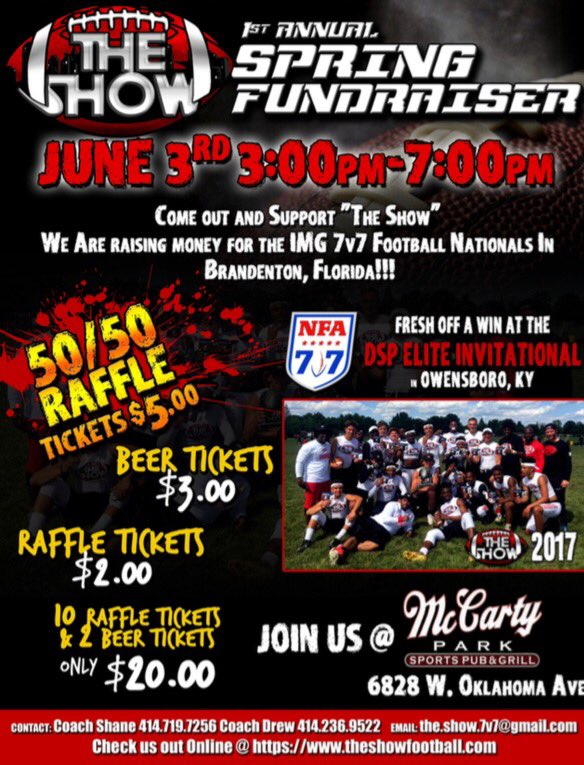 Consider supporting a good fundraiser @7on7s #football <br>http://pic.twitter.com/XICs91z84M