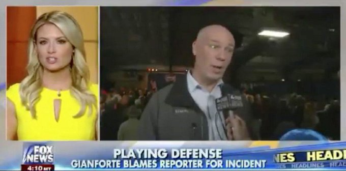 Fox News ignores eyewitness account from ITS OWN REPORTER, buries GOP candidate's assault charge https://t.co/TaMUnJhvQF