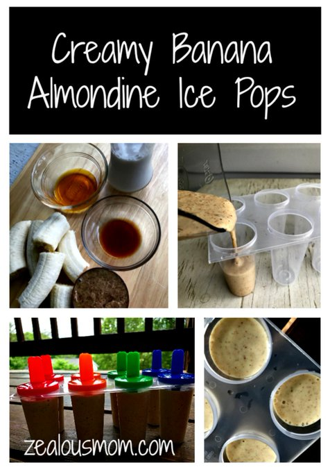 Cool off with delicious banana ice pops